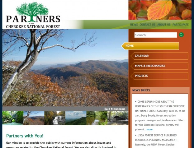 Partners of Cherokee National Forest - Advanced Site