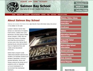 Salmon Bay School - Advanced Site