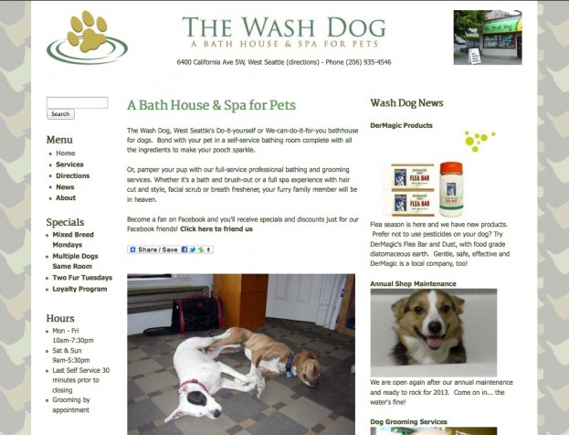 The Wash Dog - Standard Site