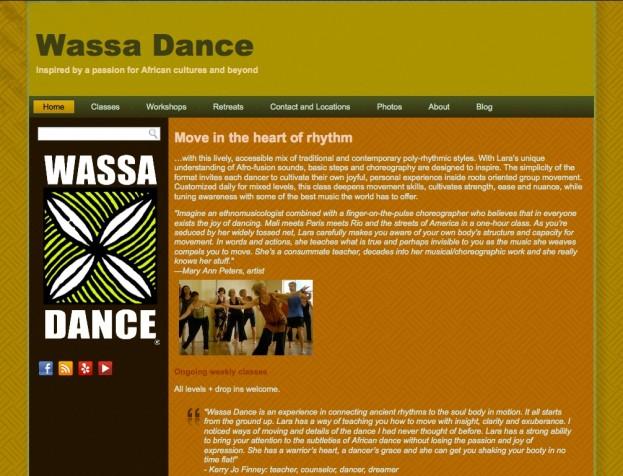 Wassa Dance - Major Site Upgrade