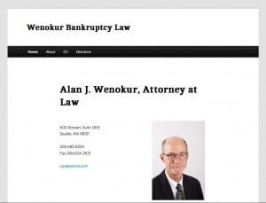 Wenokur Bankruptcy Law - Basic Website