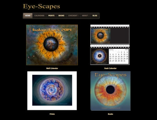 Eye-Scapes -- Advanced Site