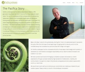 New website: Pacifica Landscapes Seattle