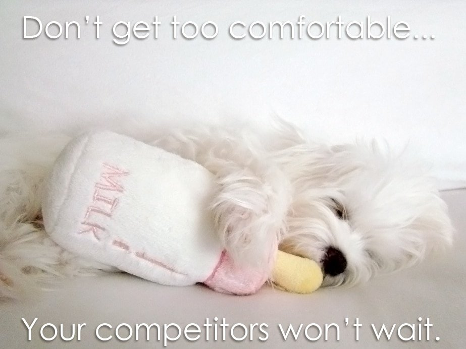 Don't Get Too Comfortable image from {author}
