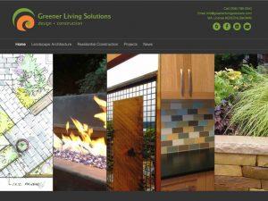 We loved rebuilding the Greener Living Solutions website