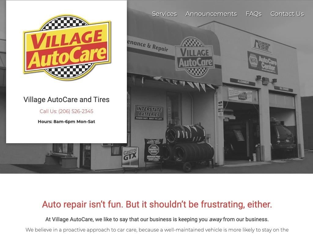 Ken Jones's Village Auto Care and Tires, your one-stop-shop!