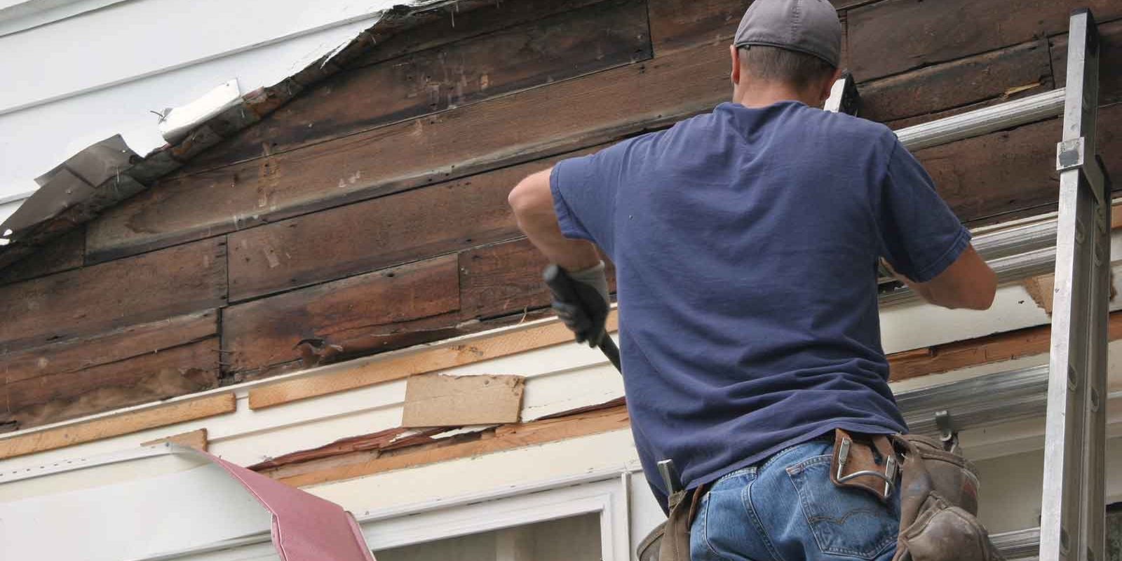 Like a carpenter fixes old or damaged siding on a home, we fix old or damaged websites